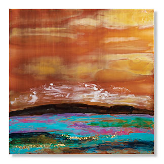 Seascape Copper II Outdoor Wall Art