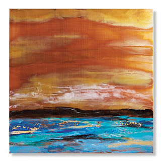 Seascape Copper I Outdoor Wall Art