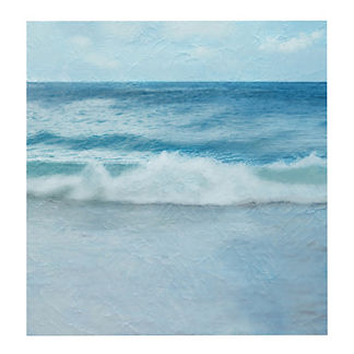 Crashing Waves Outdoor Canvas