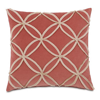 Lenneka Mini Brush Fringe Decorative Pillow