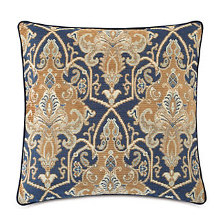 Arthur Ochre Small Welt Decorative Pillow