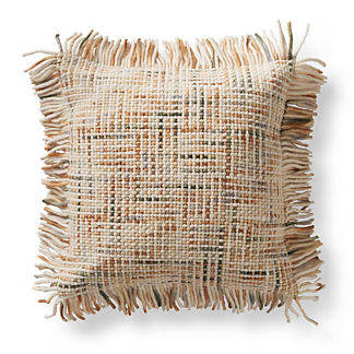 Nico Wool Fringe Decorative Pillow