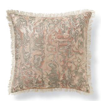 Marble Brocade Decorative Pillow