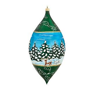 Galician Santa Drop Ornament