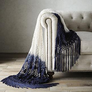 Ombre Crochet Throw
