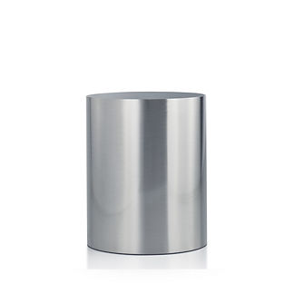 Labrazel Silvio Brushed Nickel Wastebasket