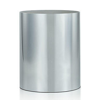 Labrazel Silvio Polished Chrome Wastebasket