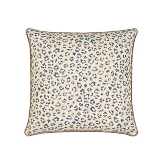 Emory Tabby Sapphire Decorative Pillow