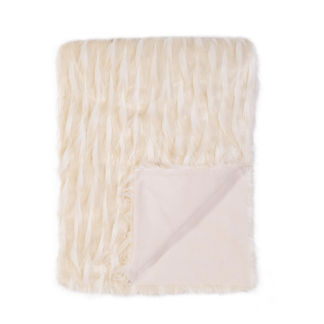 Luxe Jadis Snow Throw by Eastern Accents