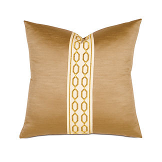 Luxe Lucent Gold Decorative Pillow by Eastern Accents
