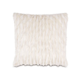 Halo Jadis Snow Decorative Pillow by Eastern Accents