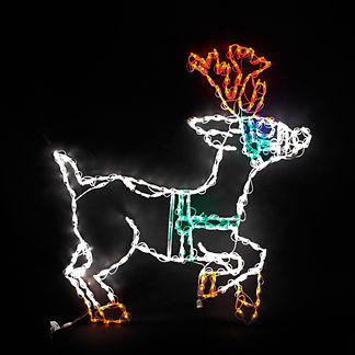 LED Reindeer Prancing