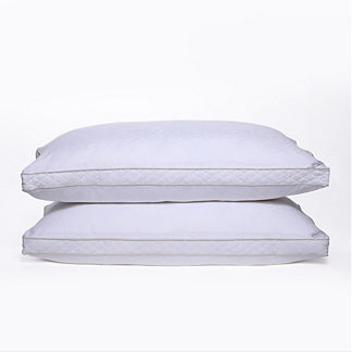 Cotton Jacquard Down Alternative Pillow