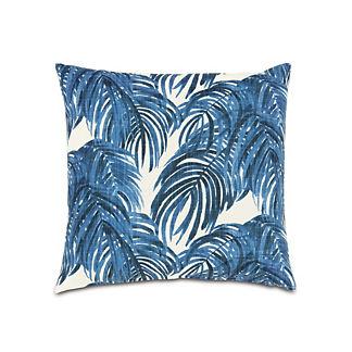 Malia Cobalt Knife Edge Decorative Pillow