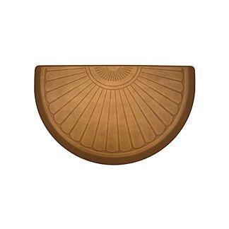 WellnessMats Sunburst Half-Round Comfort Mat