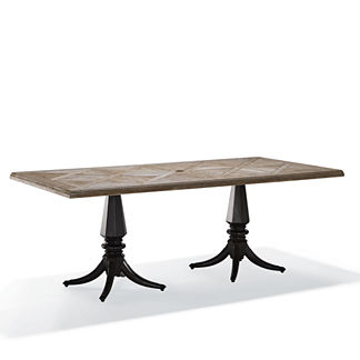 Avery Teak Top Dining Table Cover