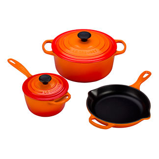 Le Creuset 5-pc. Signature Cast Iron Set