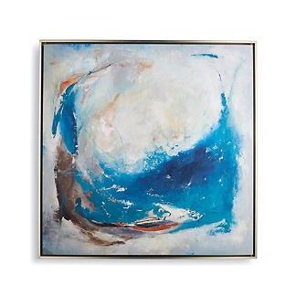 Morning Swell Embellished Giclee Print