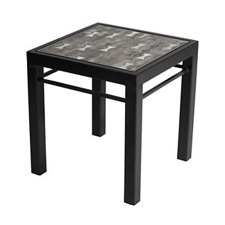 Galena Mist Modern Side Table