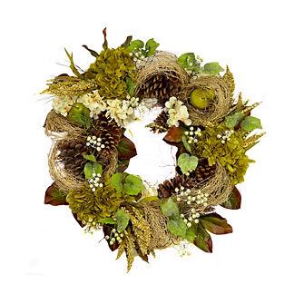 whittaker hydrangea u0026 magnolia wreath