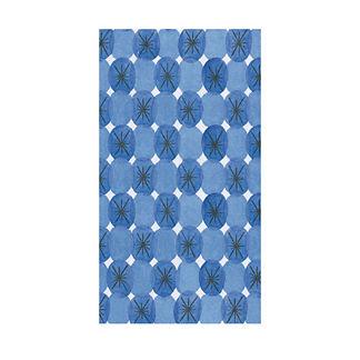 Caspari Le Moderne Blue Guest Towels