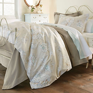 Flora Duvet Cover by Peacock Alley