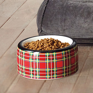 Tartan Plaid Pet Bowl