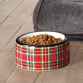 Tartan Plaid Pet Bowl
