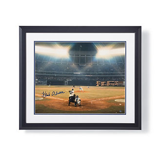Hank Aaron Signed Photo
