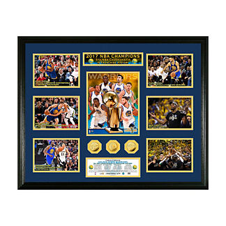 Golden State 2017 NBA Champions Photo and Coin Collection