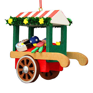 Christmas Toy Cart Ornament