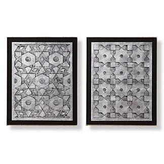 Safi Wall Art, Set of Two by Martyn Lawrence Bullard