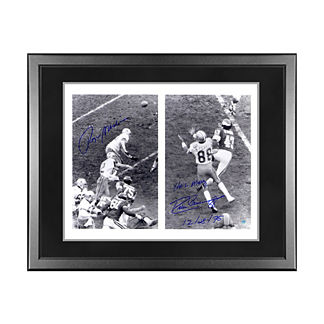 Dallas Cowboys Roger Staubach and Drew Pearson Signed Photo