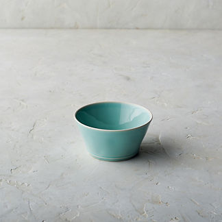 Costa Nova Astoria Cereal Bowls in Mint Finish, Set of Six