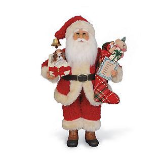 Christmas Surprise Santa Figure