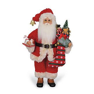 Stocking Santa Figure