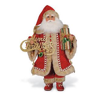 Christmas Elegance Santa Figure