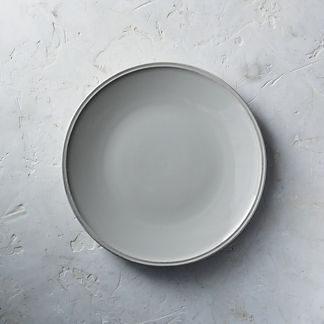 Costa Nova Friso Dinner Plates in Grey, Set of Six