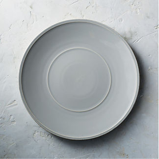 Costa Nova Friso Charger Plates in Grey, Set of Two