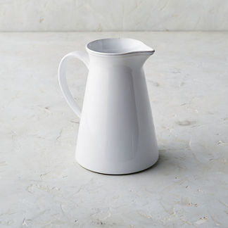 Costa Nova Friso Pitcher in White