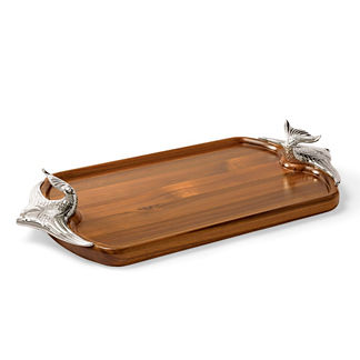 Ocean Luxe Angelfish Serving Tray
