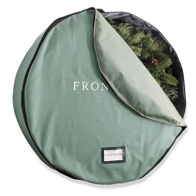 direct suspend wreath storage bag frontgate - Christmas Tree Storage Bags