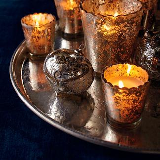 Silver Finish Copper Tray
