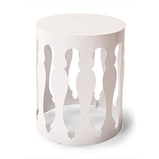 Jules Aluminum Side Table