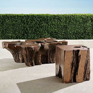Root Tables in Bronze Finish