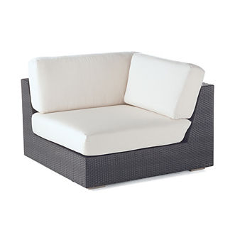 Mercer Corner Chair with Cushions, Special Order