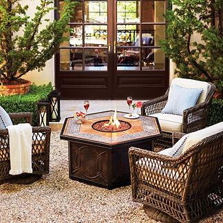 Hampton 5-pc. Chat Set with Verona Custom Fire Table