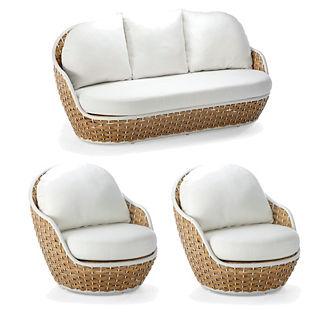 Ravello 3-pc. Sofa Set by Porta Forma