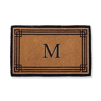 Windsor Monogrammed Coco Door Mat
