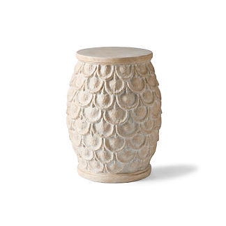 Scalloped Garden Stool